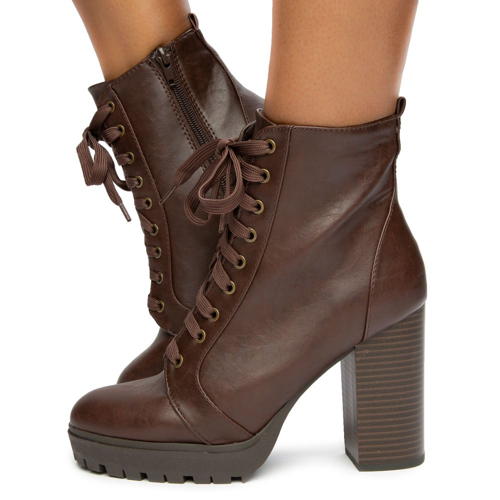 Balboa-S Lace Up Booties