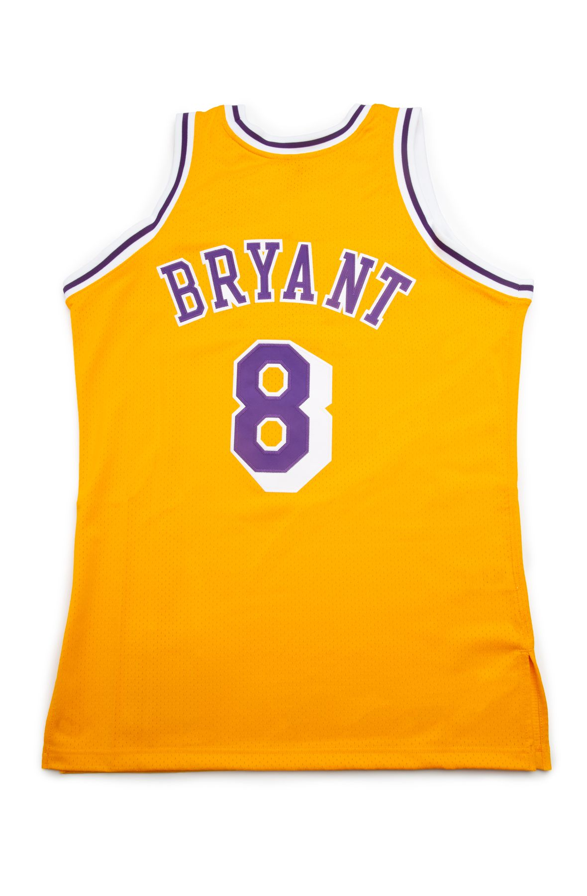 Los Angeles Lakers Kobe Bryant 1996 97 Authentic Home Jersey Light Gold
