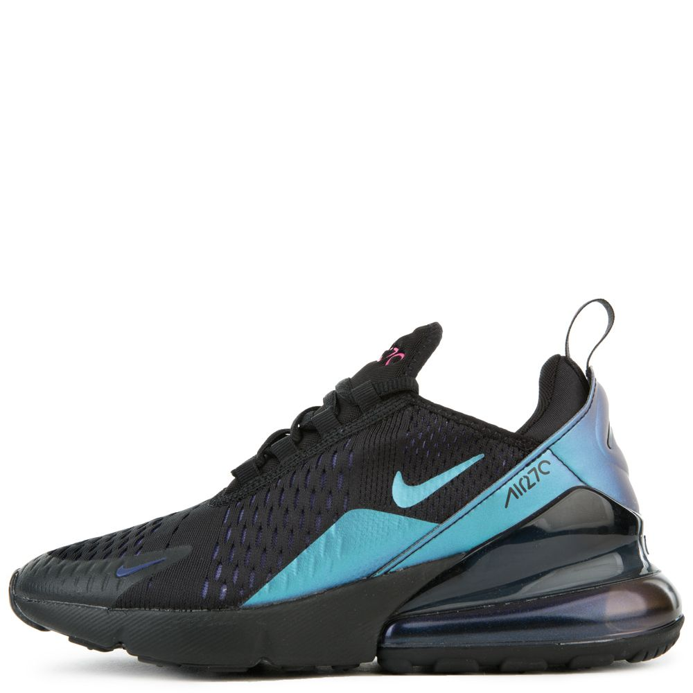 Gs Air Max 270 Black Laser Fuchsia Regency Purple