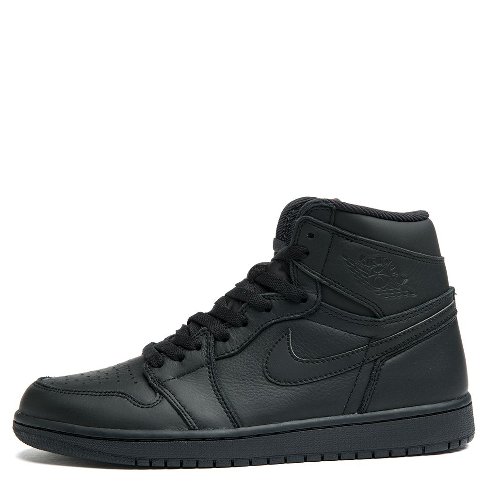 jordan ones all black