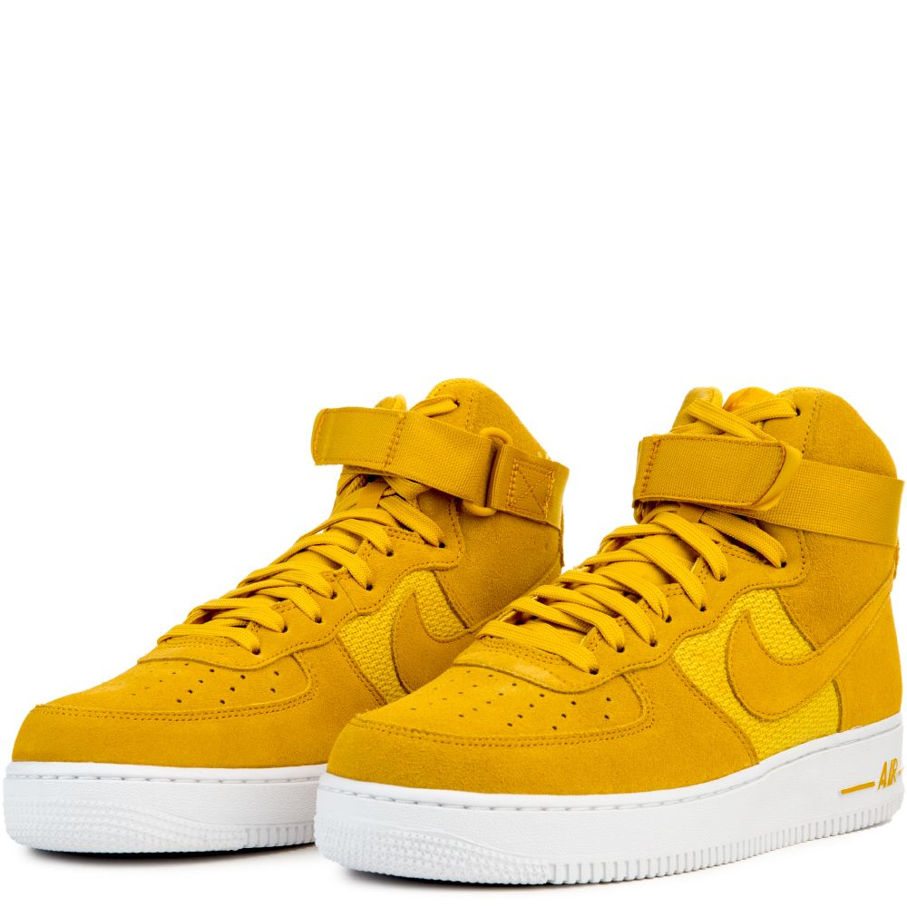AIR FORCE 1 HIGH '07 UNIVERSITY GOLDMINERAL GOLD WHITE