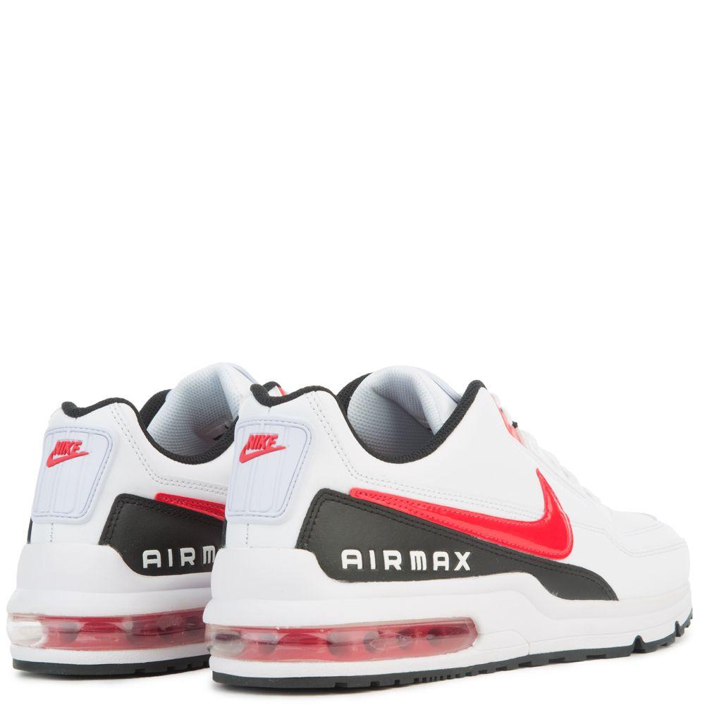 Air Max LTD 3 Mens in WhiteUniversity RedBlack by Nike   WSS