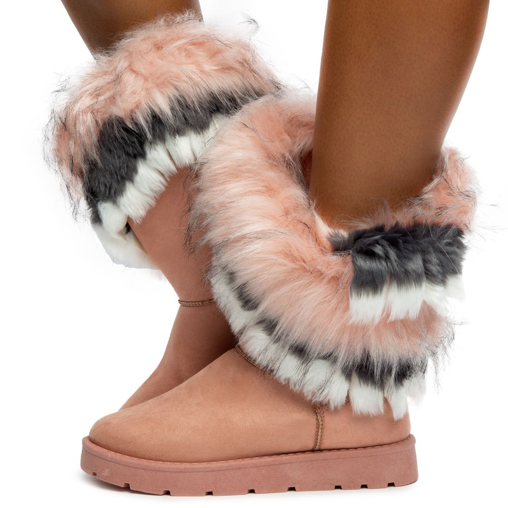 Ada Faux Fur Booties