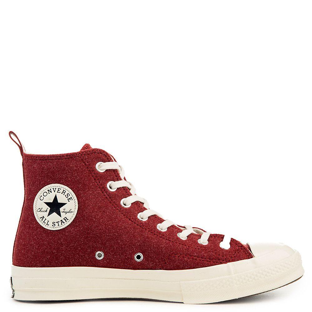 Star '70 Hi Sneaker TERRA RED/EGRET