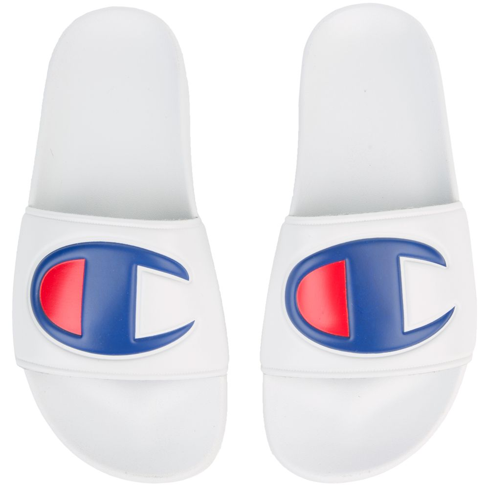 Champion ipo slides white
