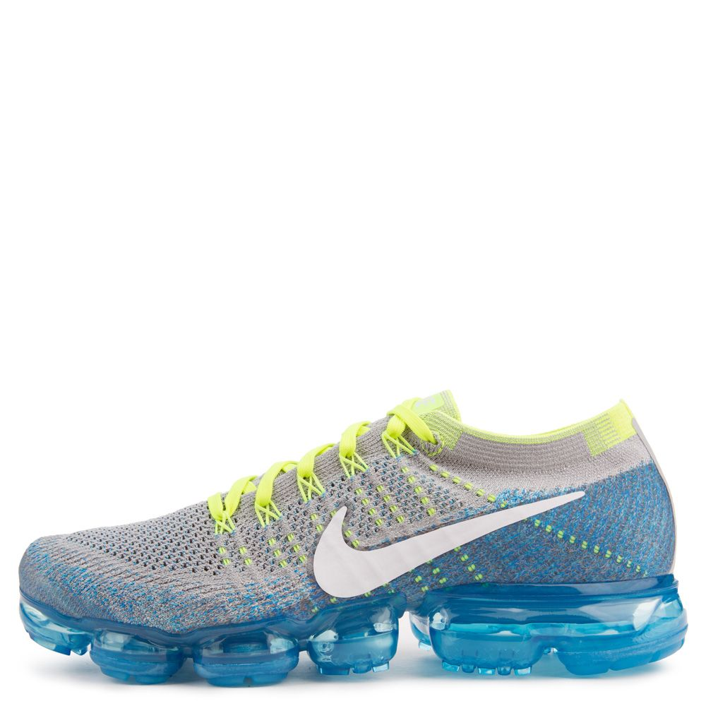 separation shoes 95e39 35136 Air Vapormax Flyknit WOLF GREY/WHITE-CHLORINE BLUE-PHOTO BLUE