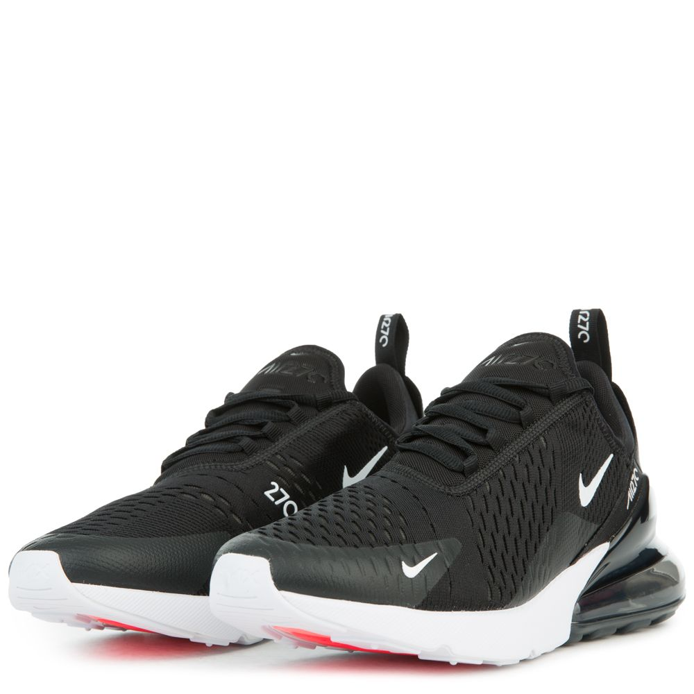 Mens Classic | Nike Air Max 270 BlackAnthraciteWhiteSolar Red