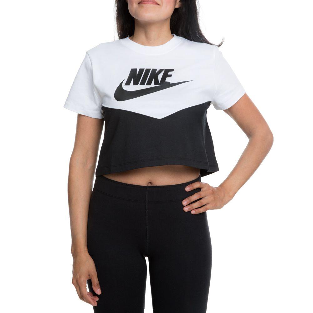 Nike Sportswear Heritage T Shirt (schwarz) | 43einhalb