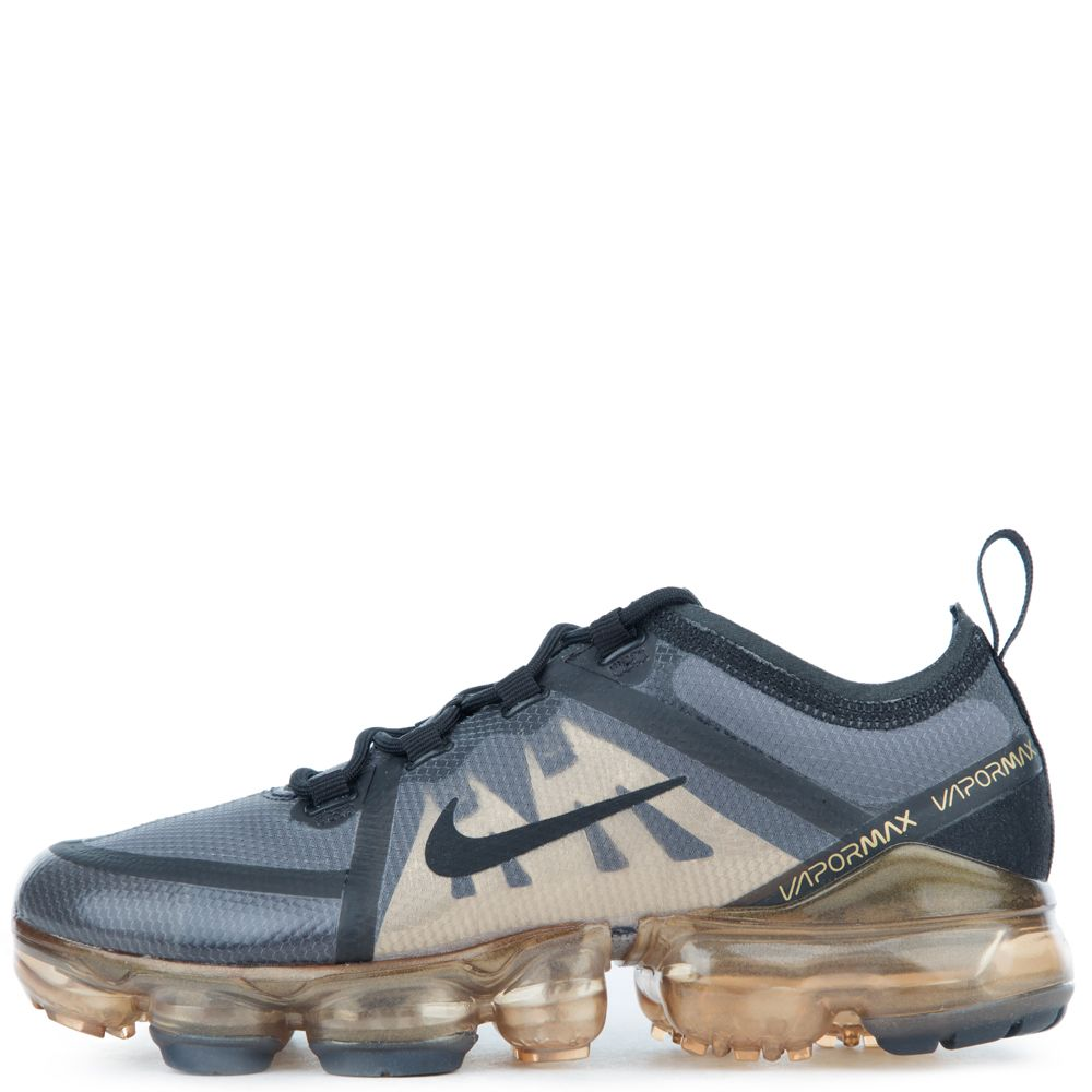 hot products classic styles speical offer (GS) AIR VAPORMAX 2019 BLACK/BLACK-METALLIC GOLD