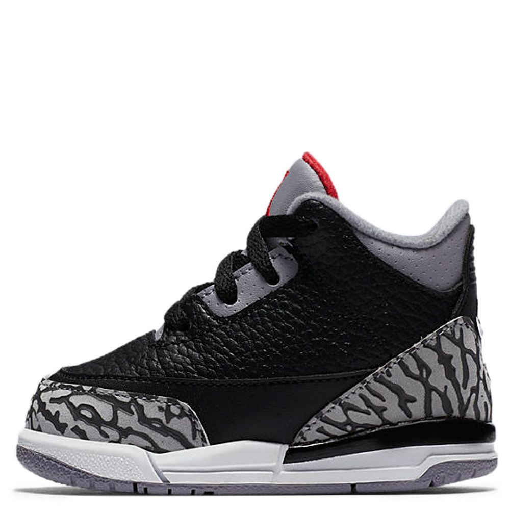 reputable site 4a2c8 866e8 Air Jordan 3 Retro OG BLACK/FIRE RED/CEMENT GREY/WHITE