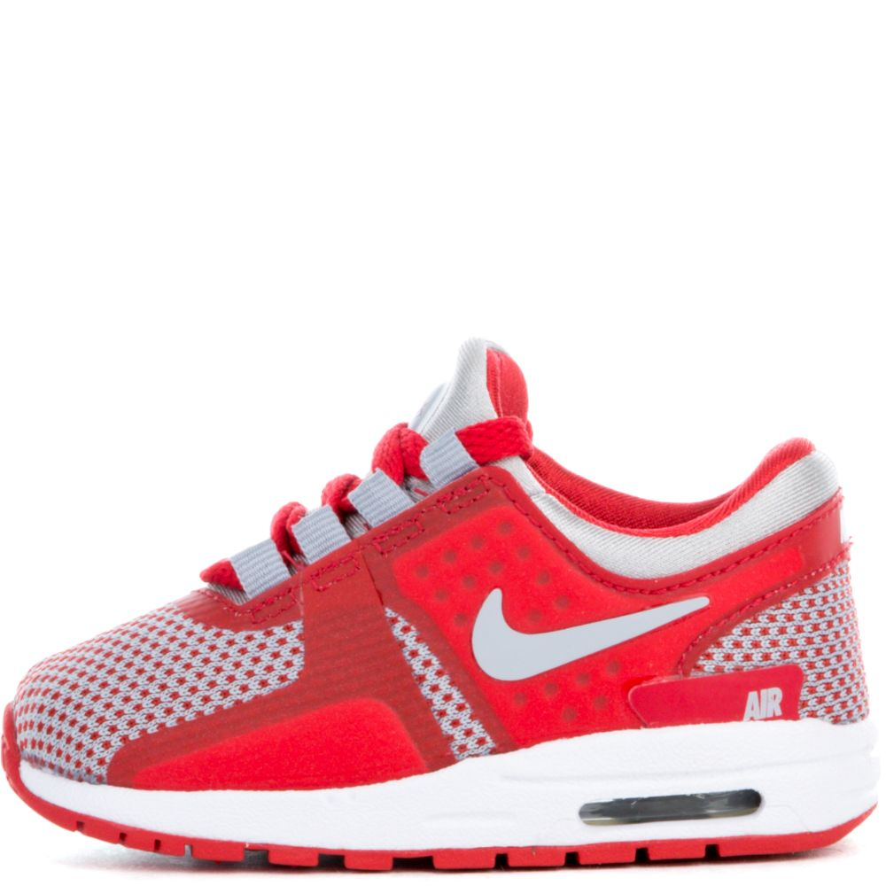 separation shoes 568e3 d50ae AIR MAX ZERO ESSENTIAL (TD) WOLF GREY/WOLF GREY-UNIVERSITY RED