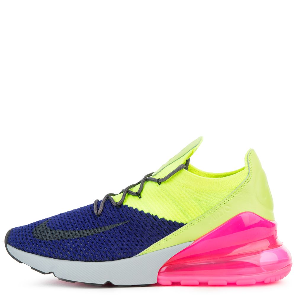AIR MAX 270 FLYKNIT REGENCY PURPLETHUNDER GREY VOLT