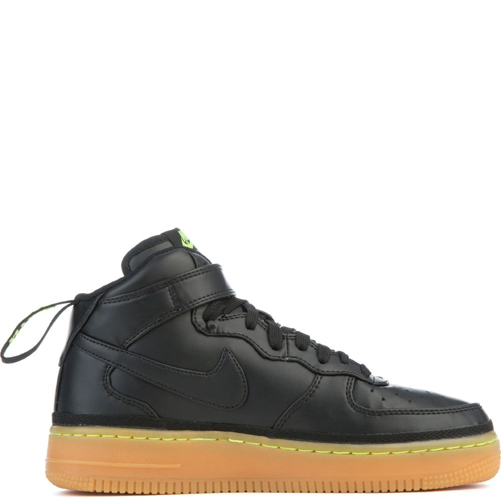 Nike Air Force 1 Mid LV8 GS 820342-004 Black Gum Brown Size 7Y Womens 8.5