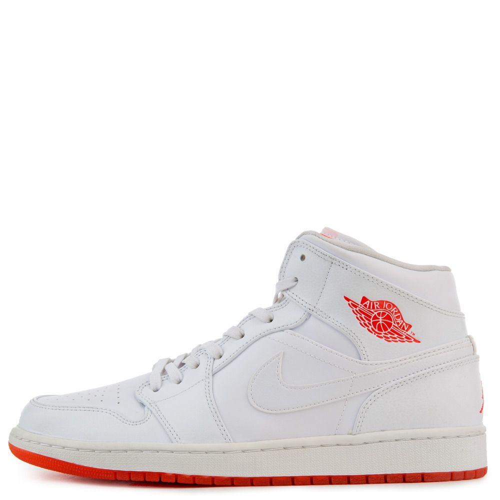 wholesale dealer f3bf2 082f1 Air Jordan 1 Mid White/Infrared 23