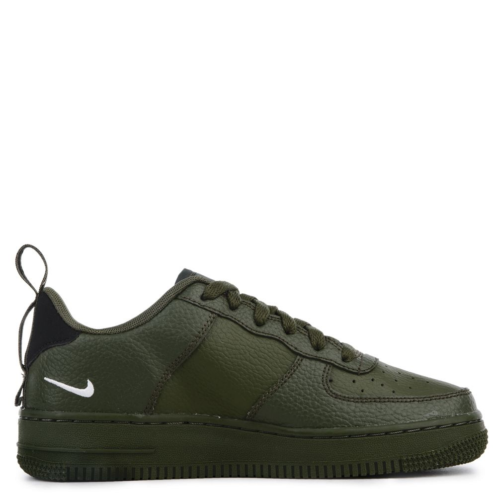 (GS) AIR FORCE 1 '07 LV8 UTILITY OLIVE CANVASWHITE BLACK TOUR YELLOW