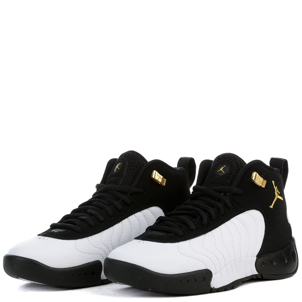 sale retailer 30d8d c5dc0 JORDAN JUMPMAN PRO BG BLACK/METALLIC GOLD-WHITE-BLACK