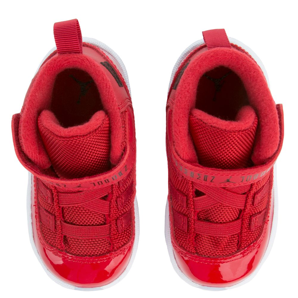 promo code 2a3cf be8f9 TODDLER AIR JORDAN 11 RETRO GYM RED/BLACK-WHITE