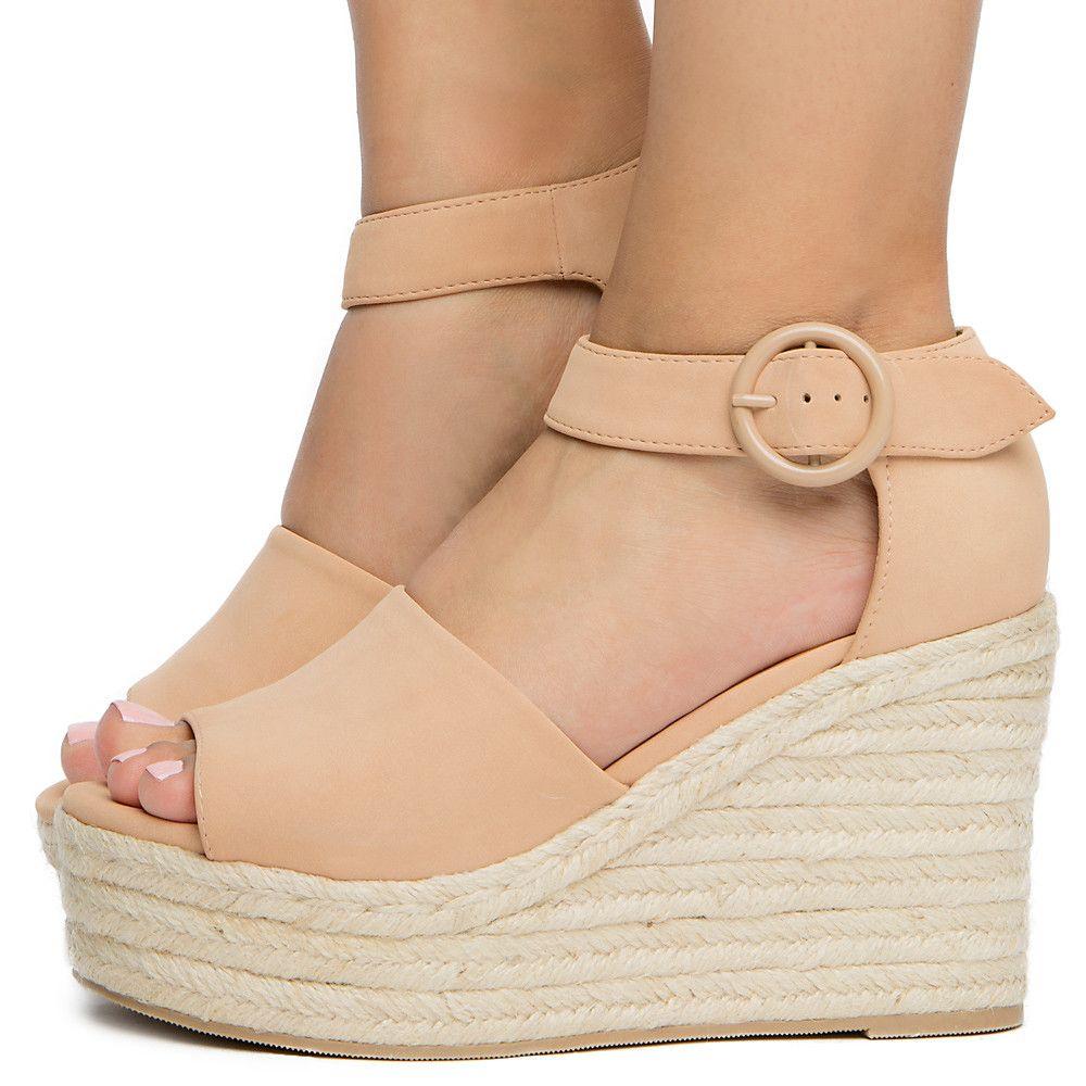 Women's Closed Heel Sandal DARK NUDE