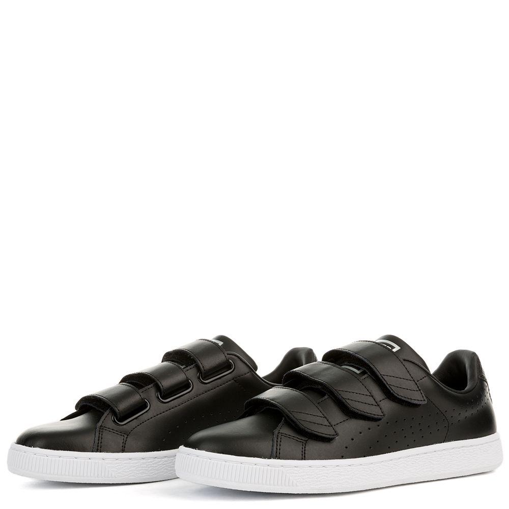 mens shoes puma basket classic black black
