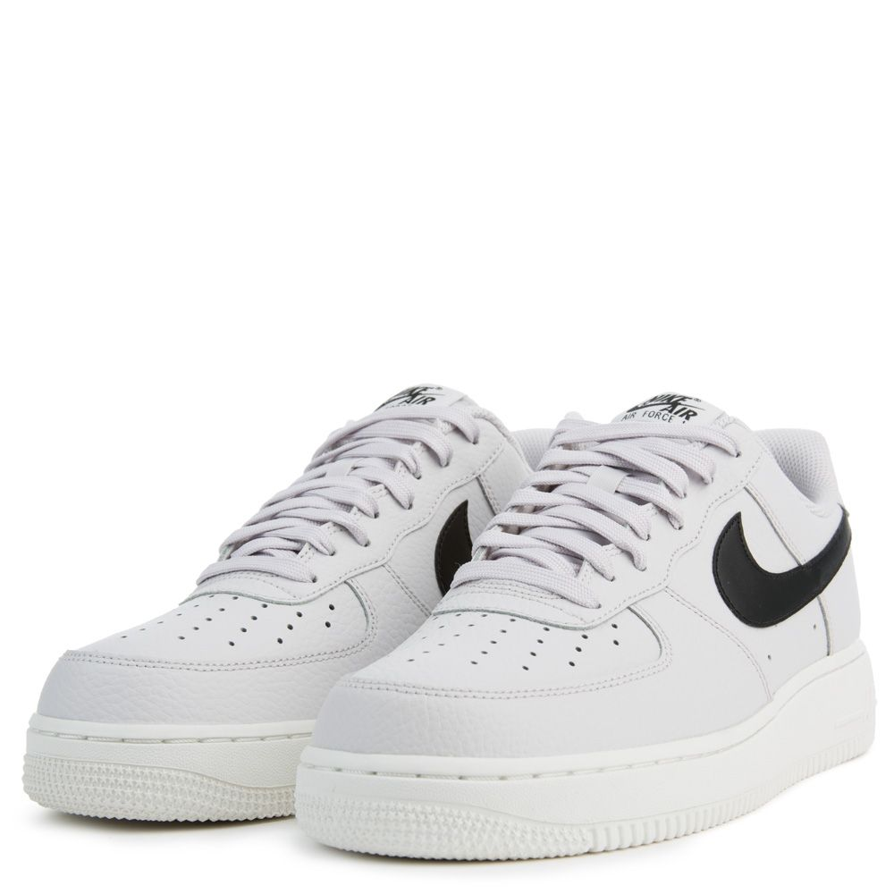 Newest Nike Air Force 1 Low Vast Grey Black Shoes AA4083 008