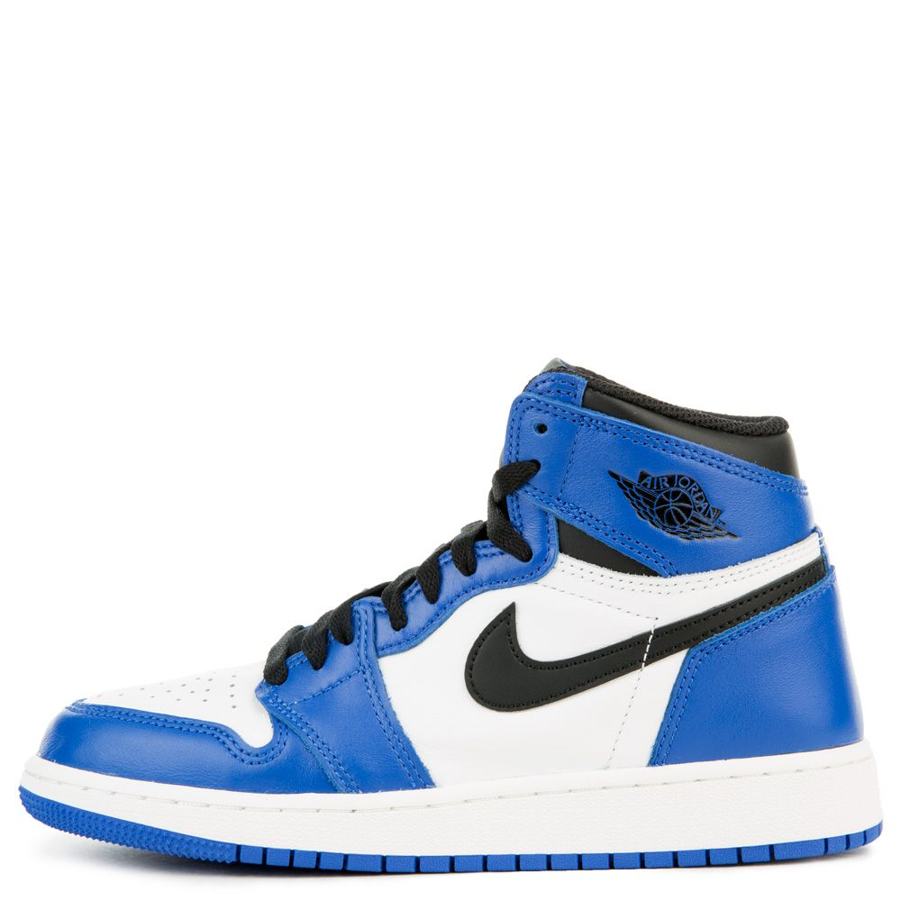 Grade School Air Jordan 1 Retro High Og Game Royal Black Summit White