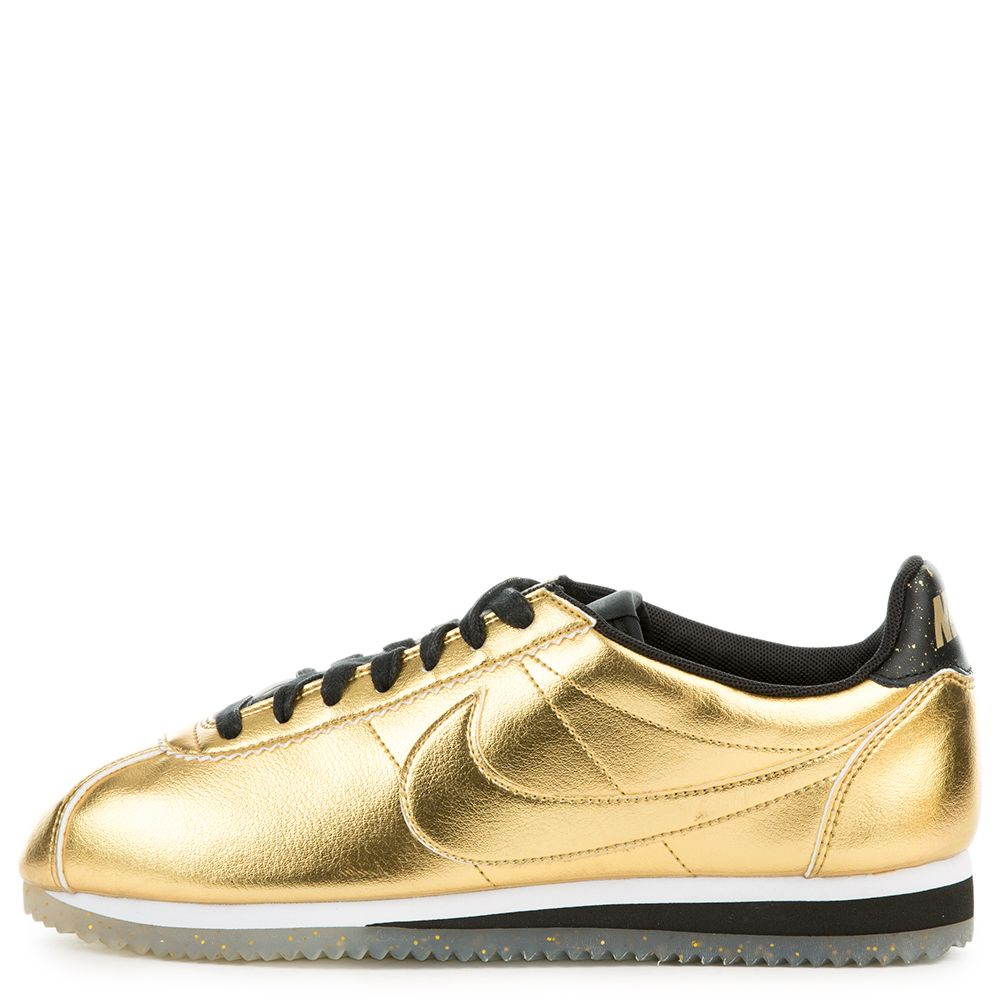 huge discount e472c d0c0c W CLASSIC CORTEZ LEATHER SE METALLIC GOLD ...