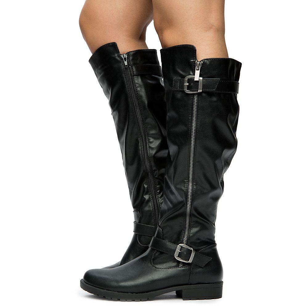 Black Riding Boots Women