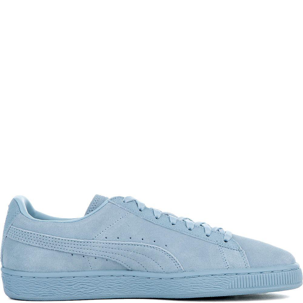 Men's Suede Classic Tonal Sneaker BLUE FOG
