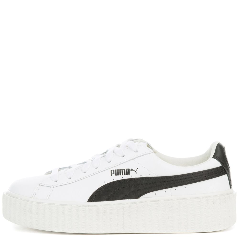 finest selection cd4d9 5661a Women's Creeper White & Black Sneaker Puma White-Puma Black-Puma White