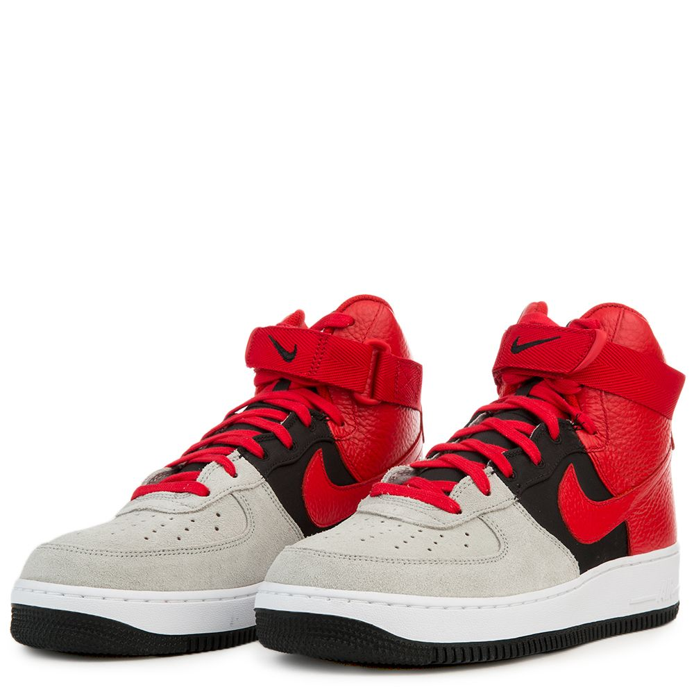 meet 3212d c4819 Air Force 1 High '07 LV8 WOLF GREY/UNIVERSITY RED-BLACK-WHITE