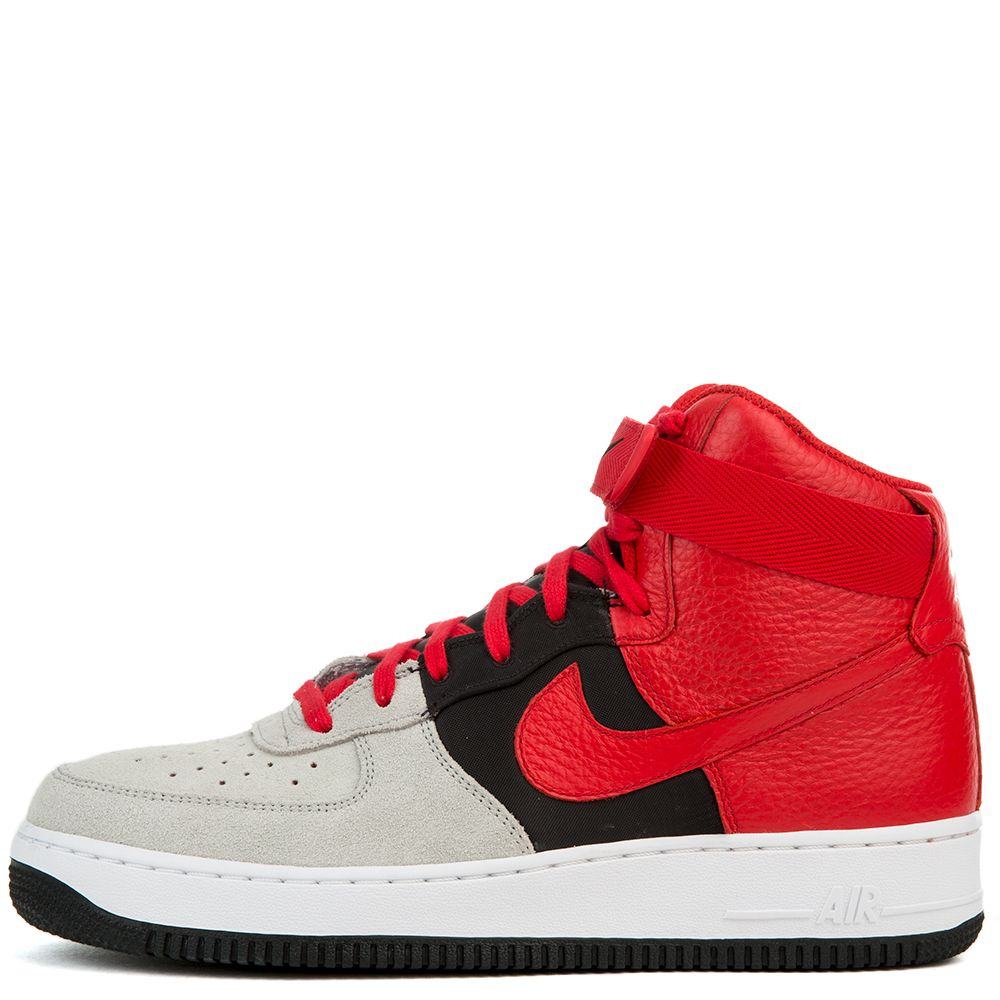 san francisco 53048 3b42d Air Force 1 High '07 LV8 WOLF GREY/UNIVERSITY RED ...