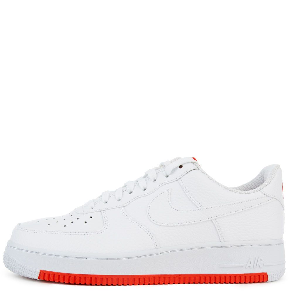 plus récent f1b29 7a2c2 Air Force 1 '07 1 White/White-Habanero Red