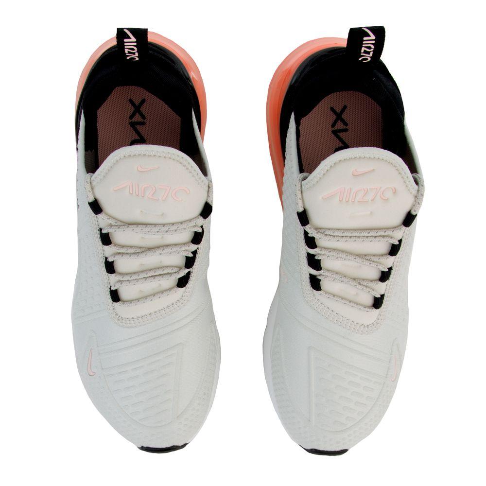 Womens Nike Air Max 270 SE Light BoneStorm PinkSummit White Black