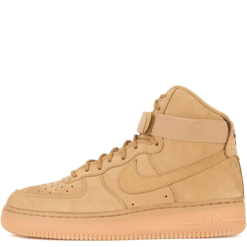 Wheat High Top Air Force Ones | Color: BrownBlack | Size