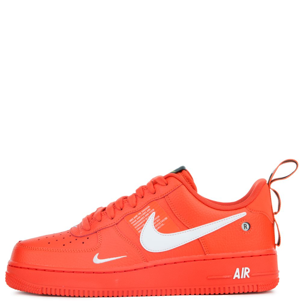air force 1 '07 lv8 utility team orangewhite black tour yellow