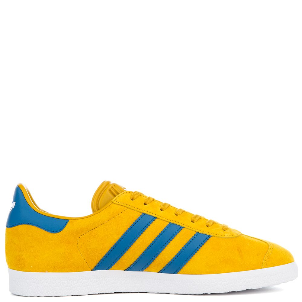 Men's Gazelle Yellow Sneaker STNOYE/CORBLU/FTWWHT