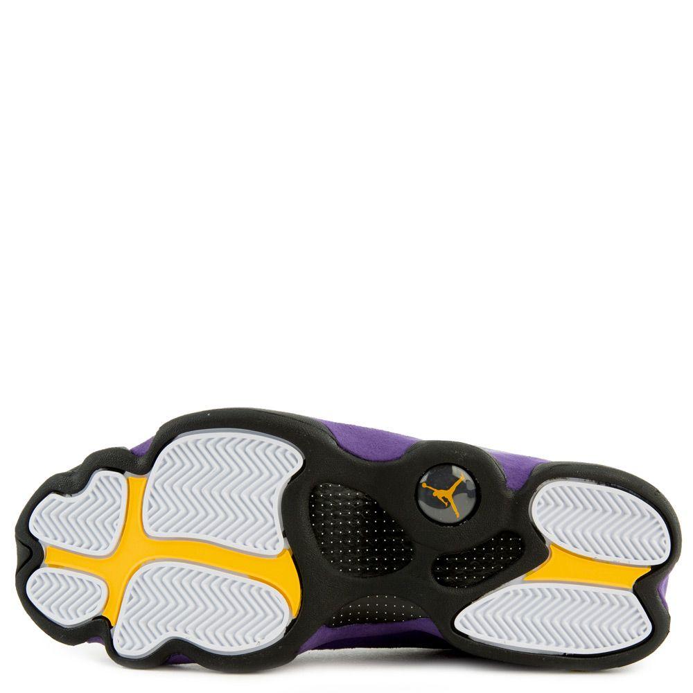 los angeles d7b0a 77671 Air Jordan 13 Retro White/Black-Court Purple-University Gold