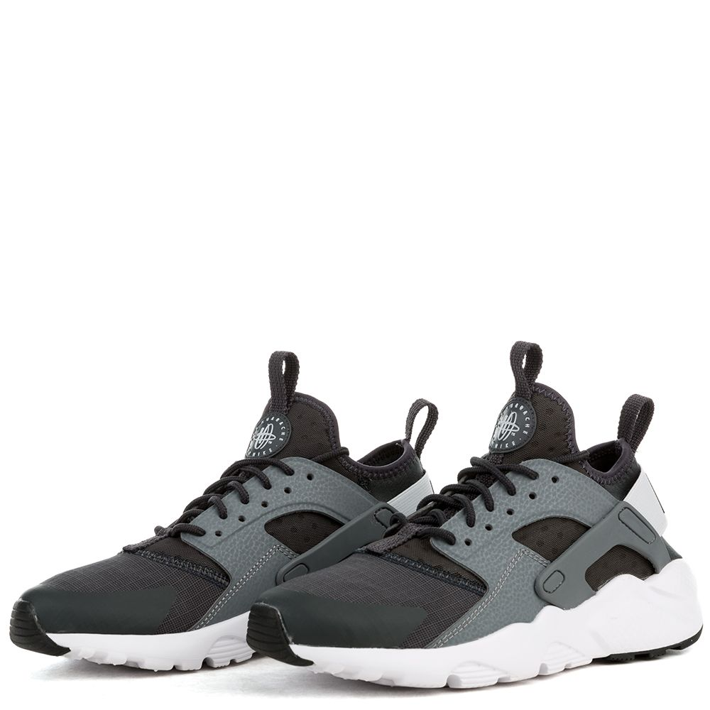 watch casual shoes lowest price AIR HUARACHE RUN ULTRA (GS) SHOE ANTHRACITE/PURE PLATINUM-COOL GREY-WHITE