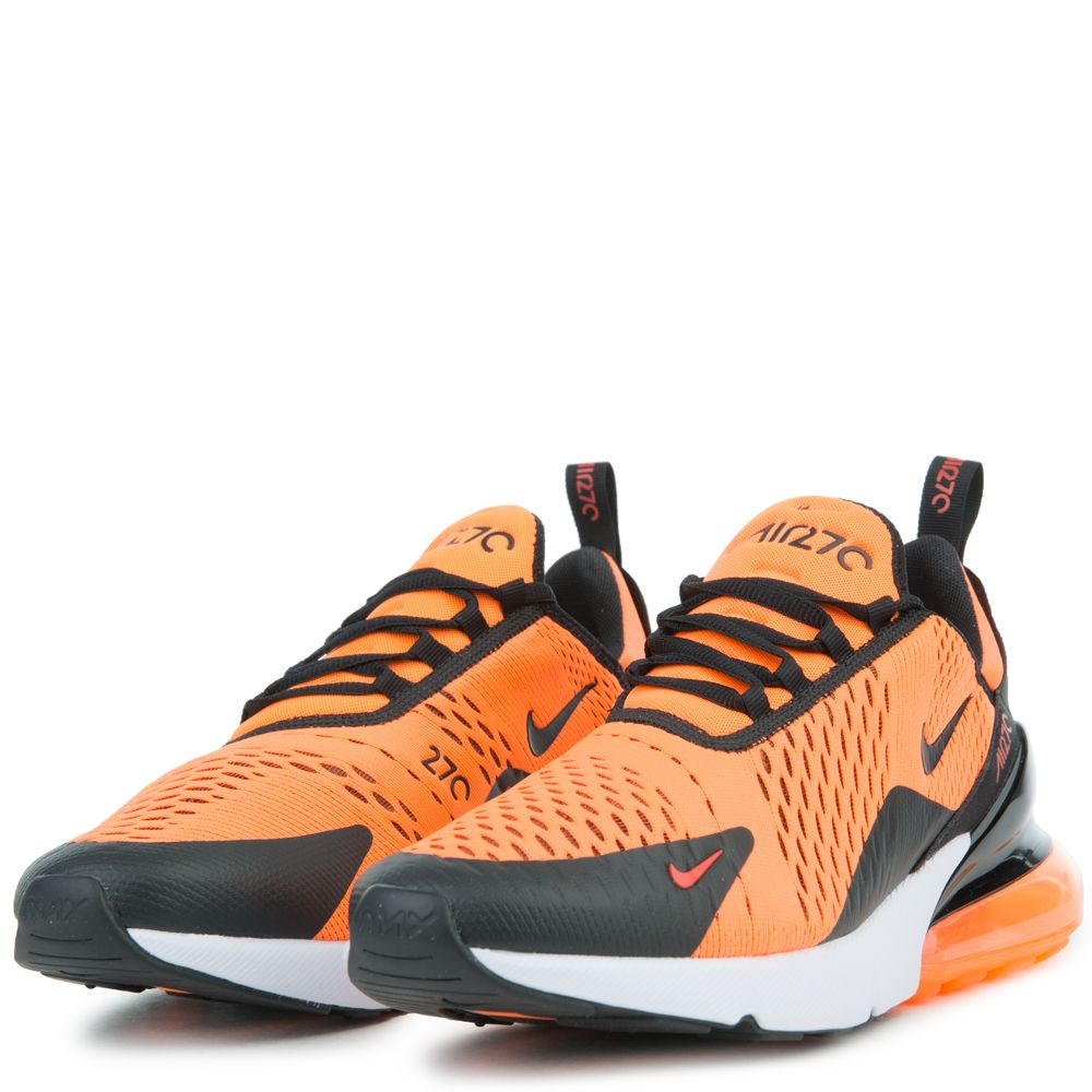 air max 270 orange black red