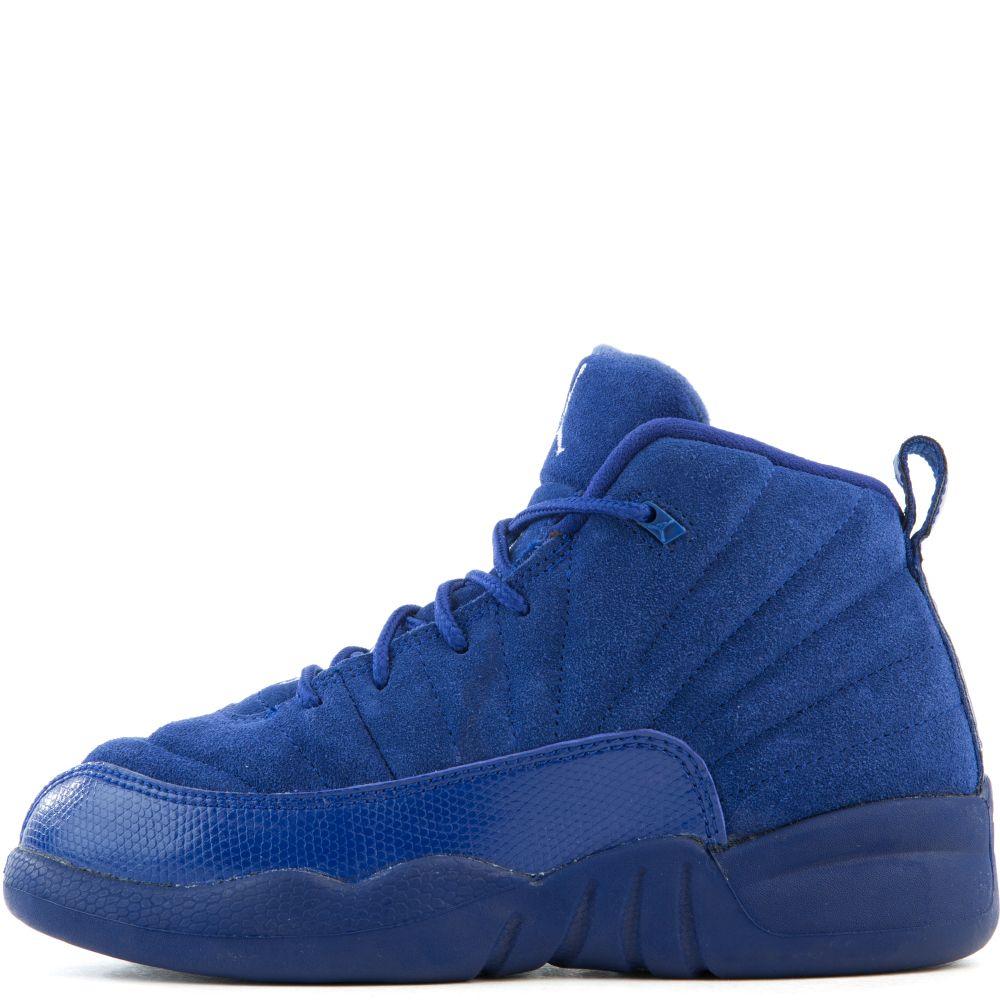 Jordan 12 Retro BP Navy Blue/White