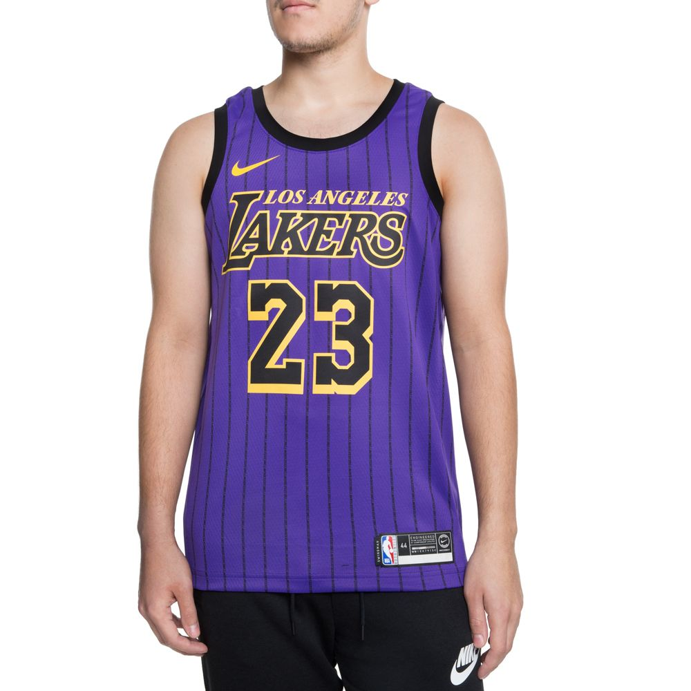 outlet store 593e6 855a7 LA LAKERS JAMES LEBRON SWINGMAN JERSEY FIELD PURPLE/JAMES LEBRON