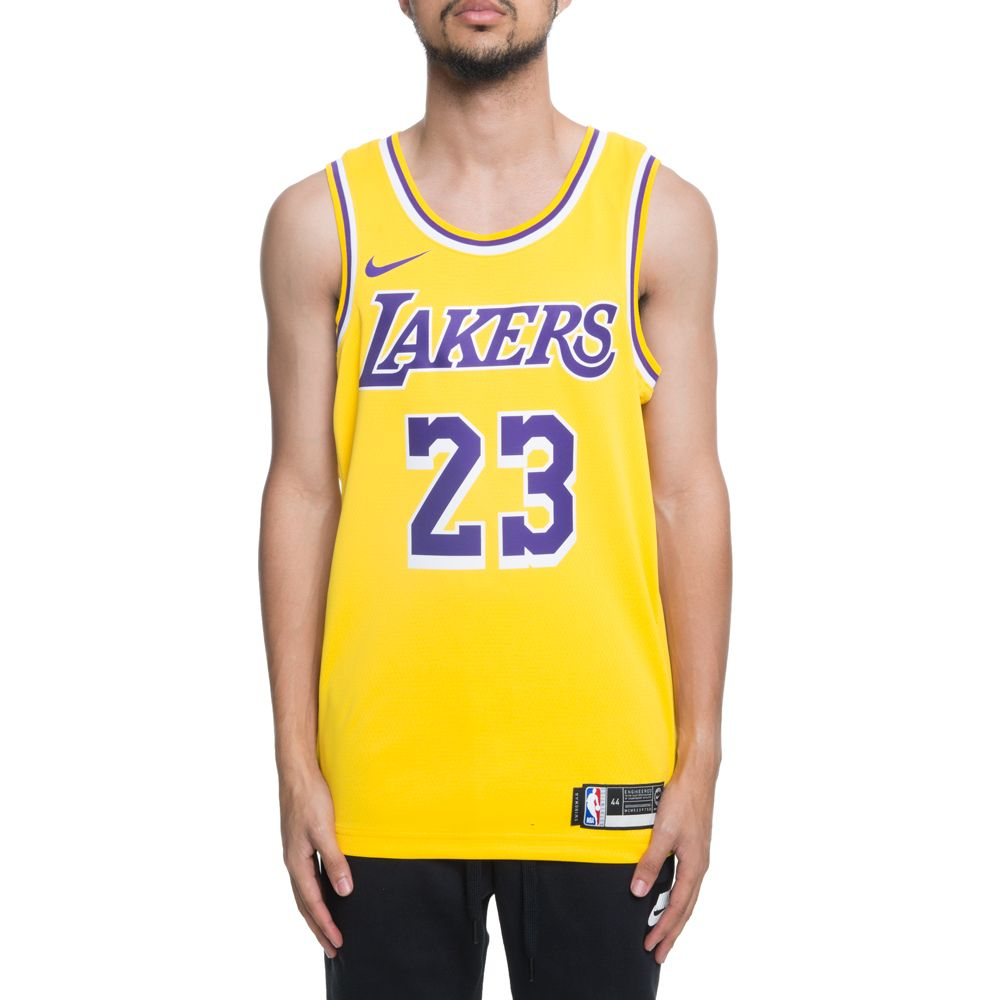 sale retailer 3c71e 21217 LAKERS LEBRON SWINGMAN JERSEY