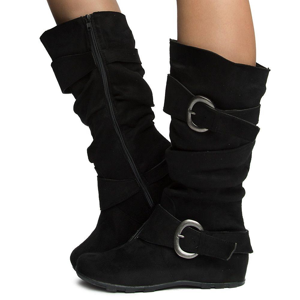 Women's Jester-01s Hidden Wedge Boots