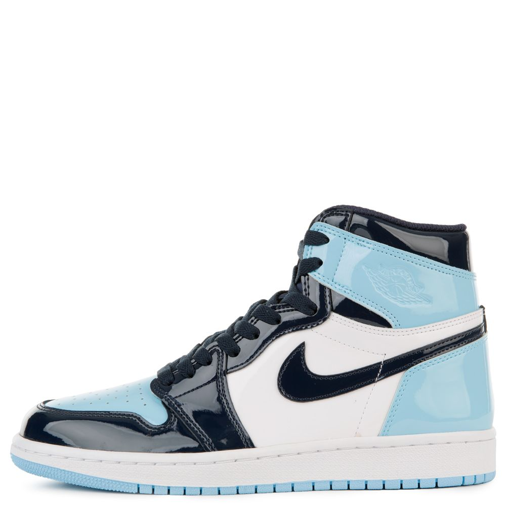 Women S Air Jordan 1 Retro Obsidian Blue Chill White