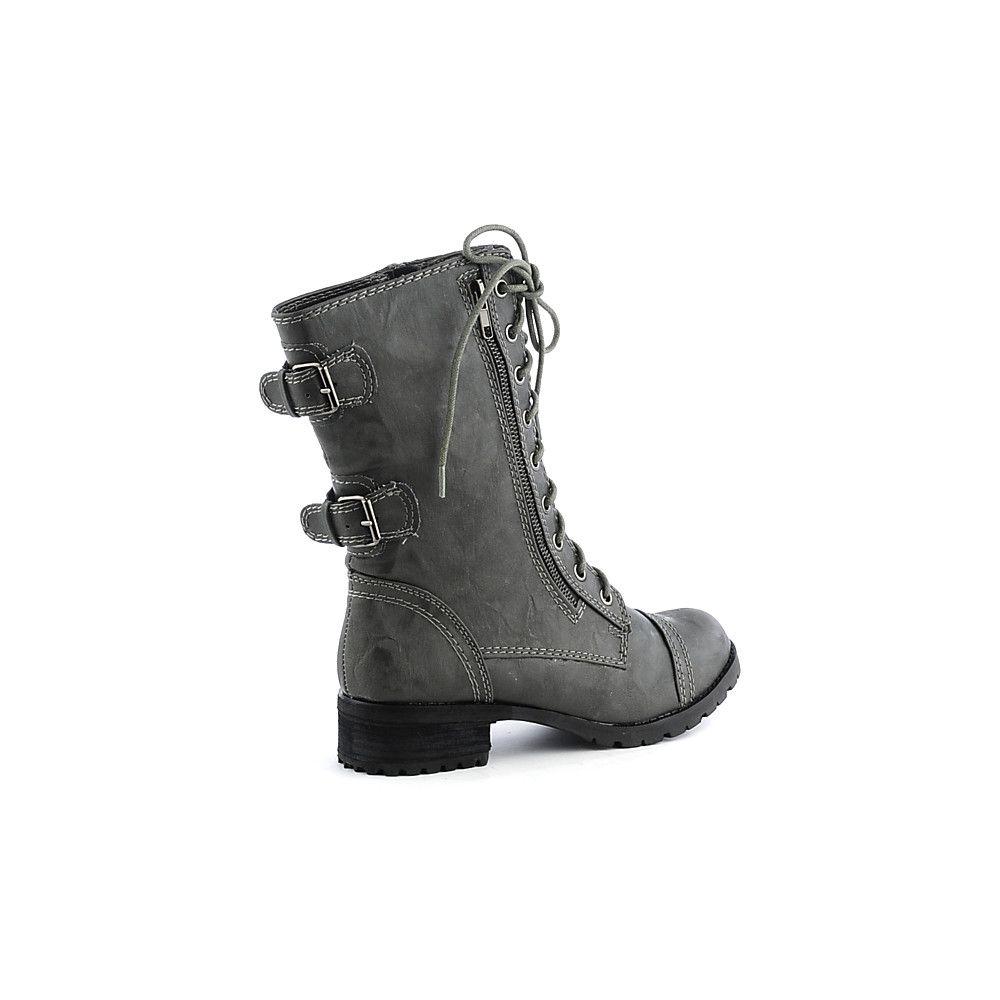 Combat Boots Gray