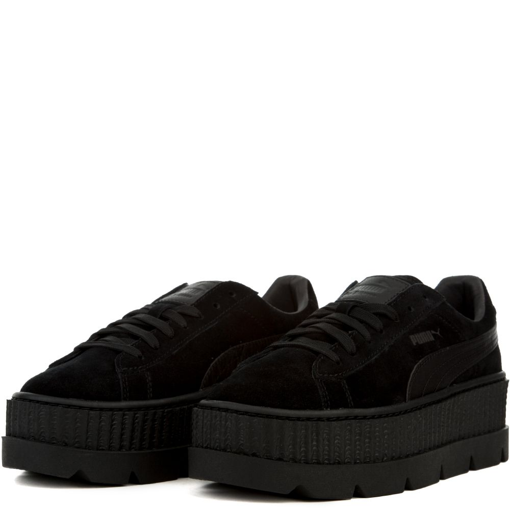 huge selection of a3e11 bd17e Women's Cleated Creeper Suede PUMA BLACK