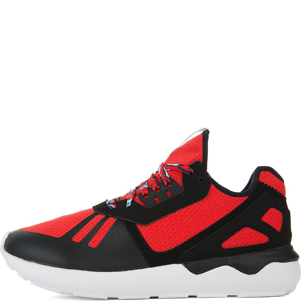 Men's Tubular Runner Athletic Running Sneaker RedBlackWhite