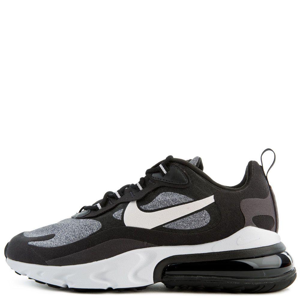 air max 270 react grey and black