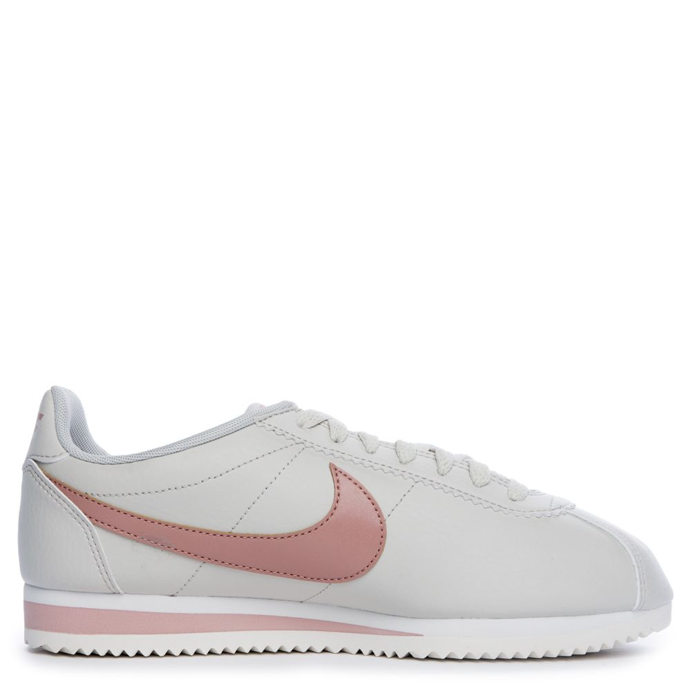 reputable site 819f1 19d26 WOMEN'S NIKE CLASSIC CORTEZ LIGHT BONE/PARTICLE PINK-SUMMIT ...