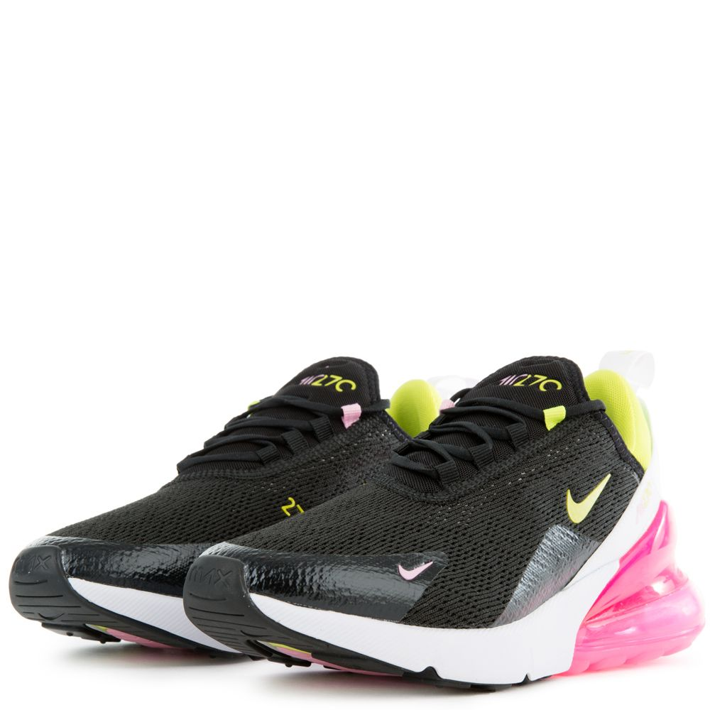 Nike Women's Air Max 270 Running Shoes Black Cyber Pink CI5770 001 NEW
